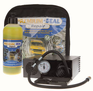 PREMIUM-SEAL Repair Compressor flat tyre set for cars